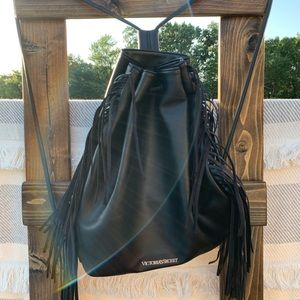 Victoria's Secret drawstring bag